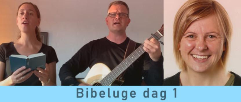Bibeluge dag 1-8