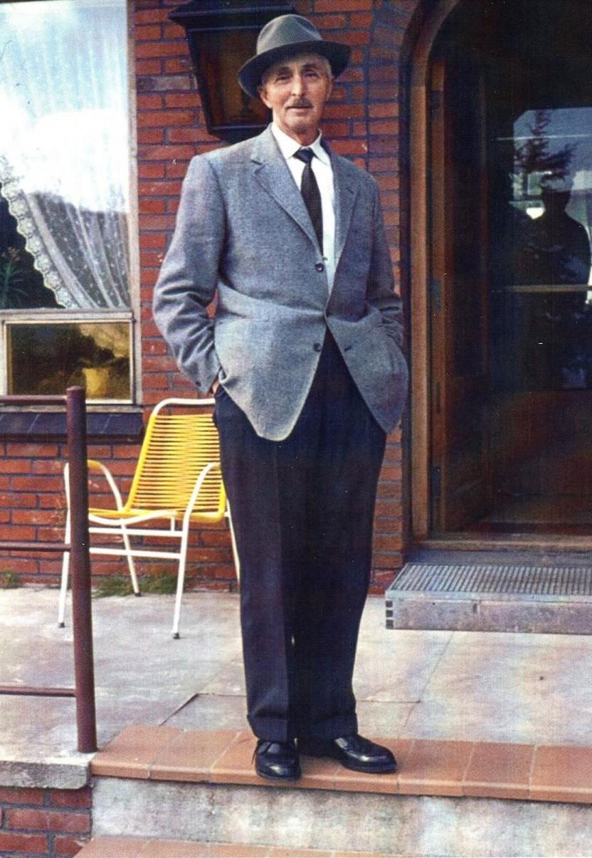 Andreas Andersen fotograferet i 1970