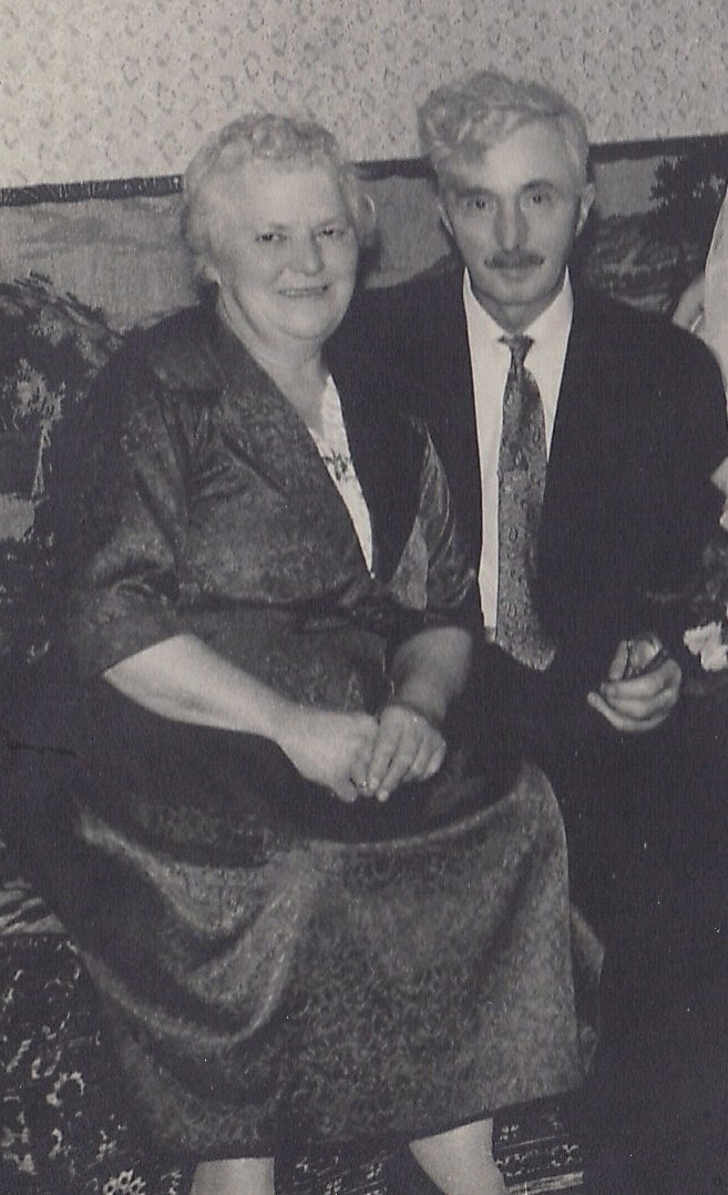 Nina Jørgensens forældre Line Andersen og Andreas Andersen fotograferet i 1960