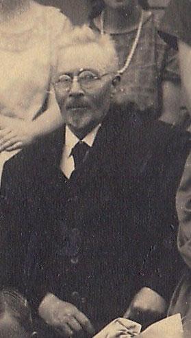 Andreas Andersens far Peter Andersen fotograferet i 1925.