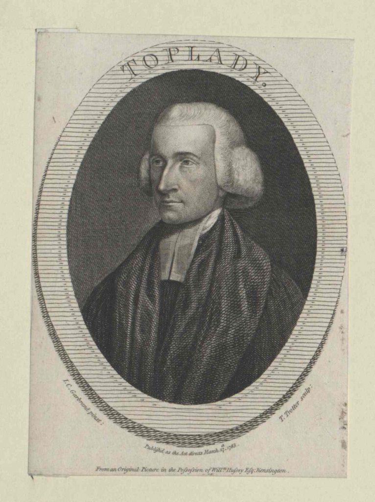 Augustus Toplady (1740-1778)